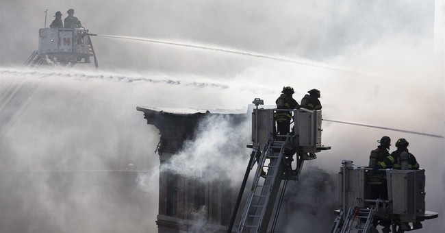 New York fire, building collapse injure 12; gas blast blamed