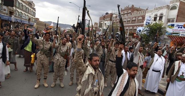 Warships move in key strait as airstrikes widen in Yemen