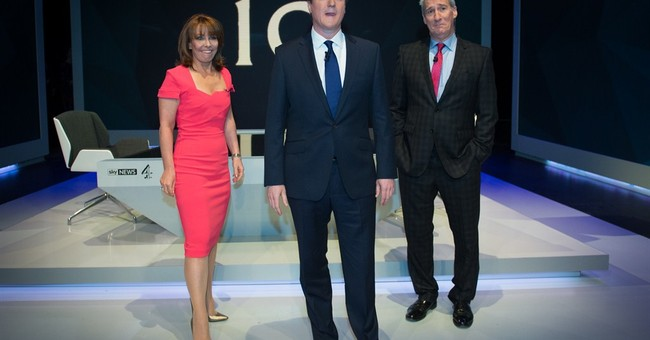 UK prime minister, opposition leader in live TV interviews