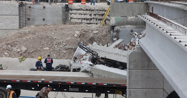 Semi plows into unfinished Texas interstate bridge; 1 killed