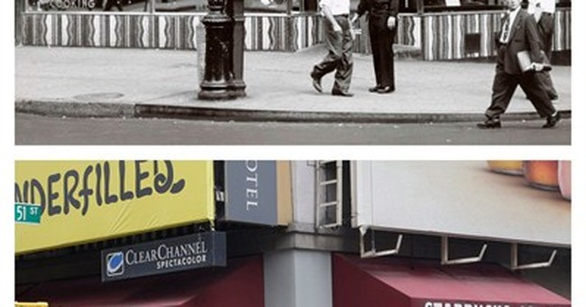 'The Weegee Guide to New York' shows mid-20th century city