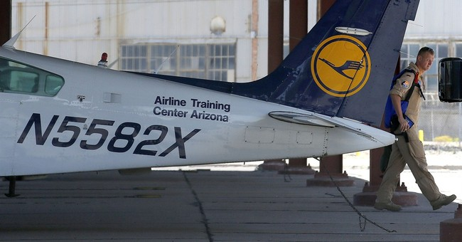 Co-pilot suspected of air crash in Alps trained in Arizona