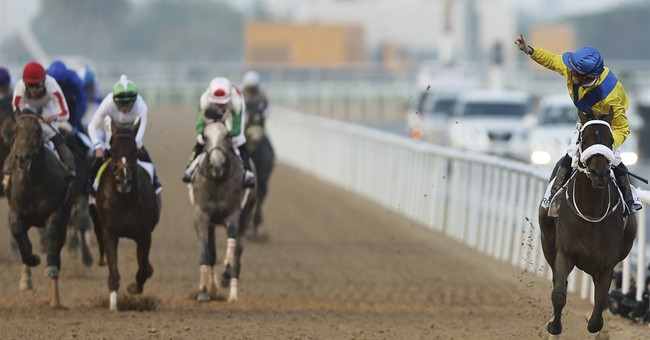 AP's Run to the Roses: Mubtaahij No. 8; Dortmund still No. 1