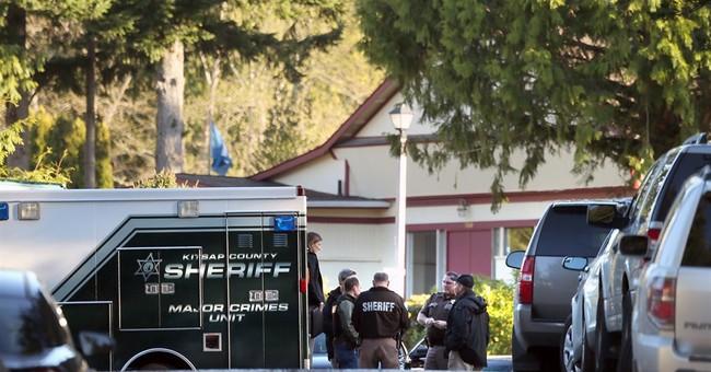Woman, 2 year old killed, man injured in Washington shooting