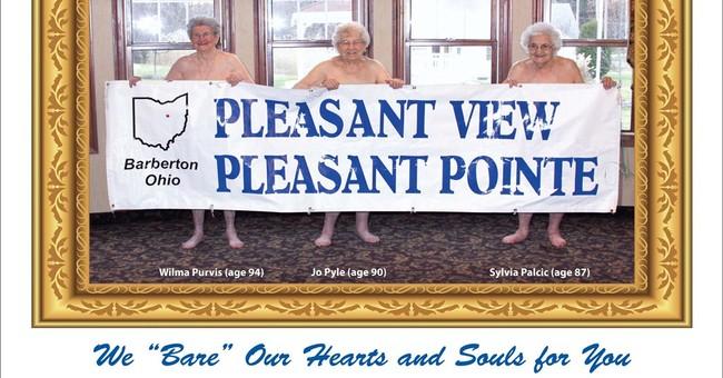 Grandma is a centerfold: Rest home bares all for calendar