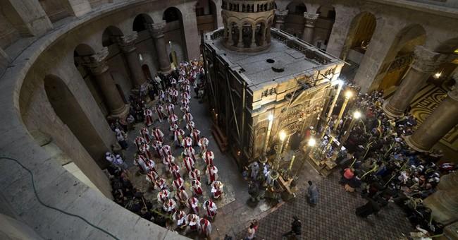 Waving fronds around the world, Christians mark Palm Sunday