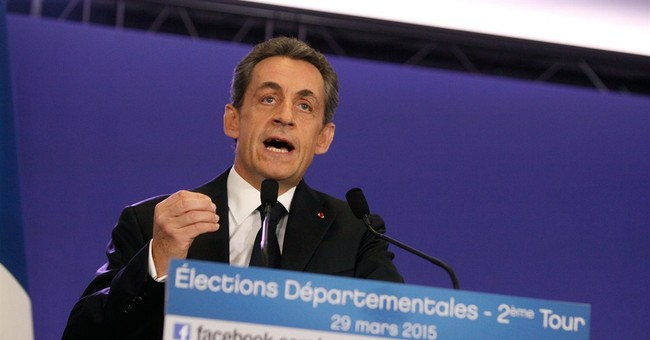 French ex-president appears before financial investigators