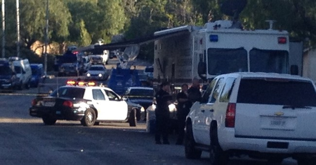 Man suspected of shooting at off-duty LAPD officer detained