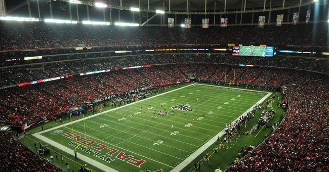 Falcons fined, lose draft pick for pumping in fake noise