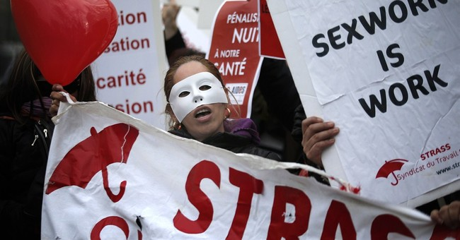 France's Senate debates punishing prostitutes' customers