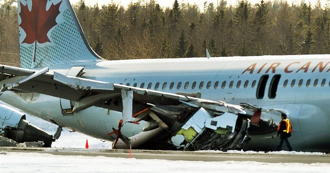 Officials examining why plane landed short of Halifax runway