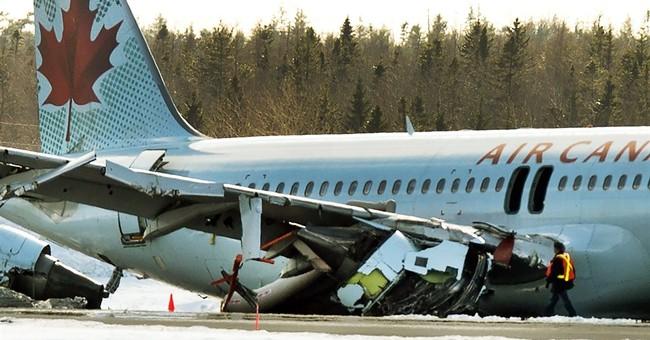 Officials examining why plane landed short of Halifax runway