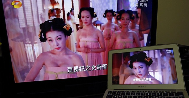 Censors strike again as China bans bosoms in popular TV show