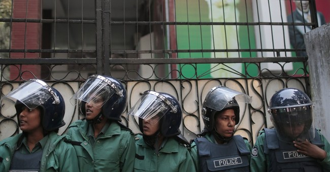 Image of Asia: Political standoff in Bangladesh's capital