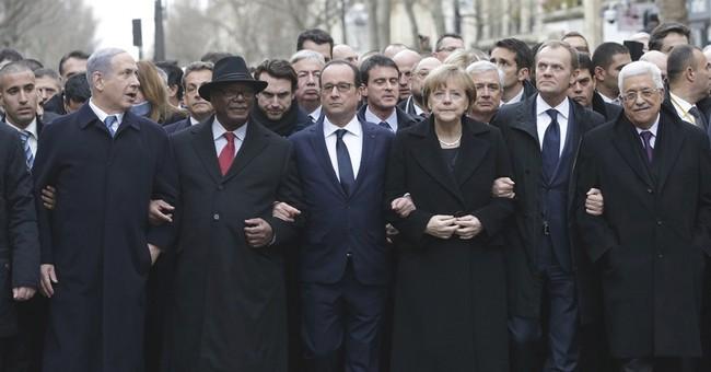 APNewsBreak: France seizes moment to push for Mideast talks