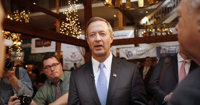 Democrat O'Malley hits GOP support for Indiana law