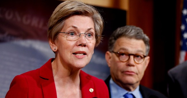 Liberal Dems, GOP cling to hope Warren runs for president