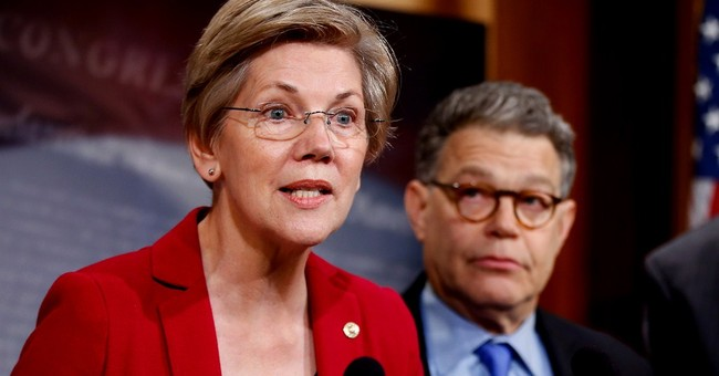 Liberal Dems, GOP cling to hope Warren runs for president