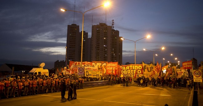 Transportation strike in Argentina shuts down country