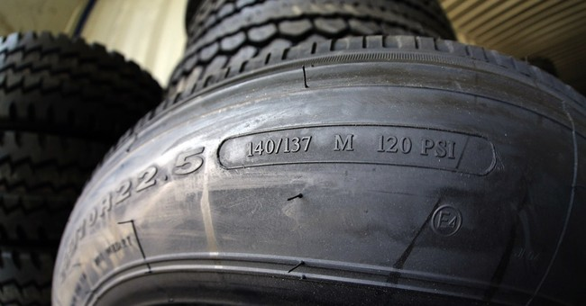 AP Exclusive: Big rigs often go faster than tires can handle
