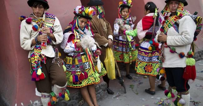 AP PHOTOS: Violent past haunts Peru dances in Ayacucho area
