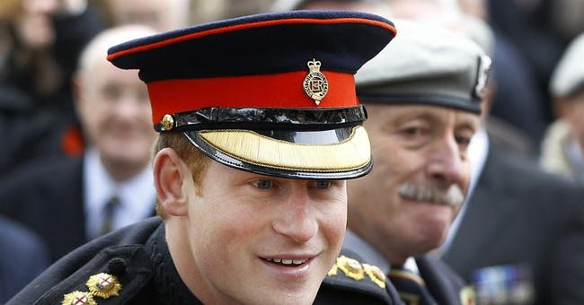 British Prince Harry reports for duty in Australia next week