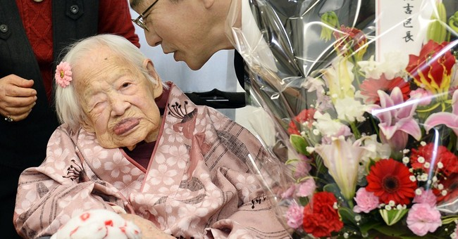 The world's oldest person, a Japanese woman, dies at 117