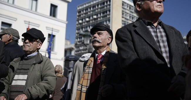 Greek pensioners hold anti-government rallies
