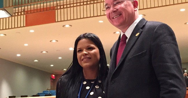 Hugo Chavez' favorite daughter makes UN debut as US bashed