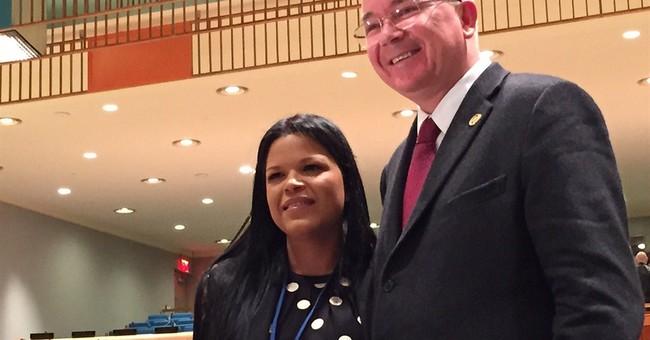 Hugo Chavez' favorite daughter makes UN debut as US bashed