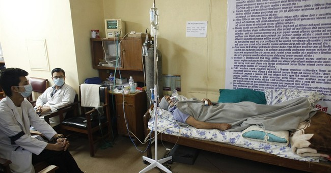 Nepal doctors stay away from work to support colleague