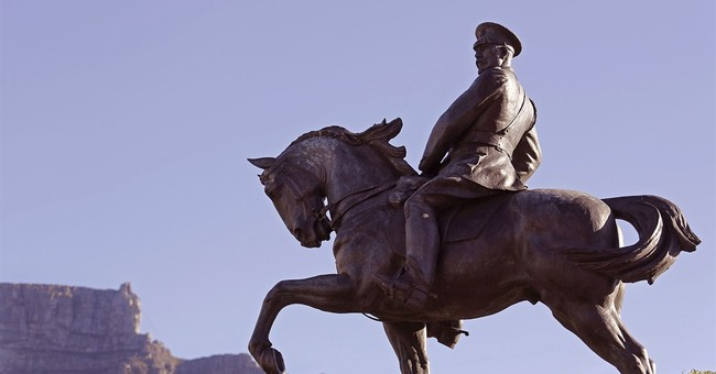Old colonial statues are in the crosshairs in South Africa