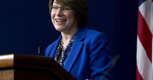 Sen. Amy Klobuchar writing memoir, scheduled for August