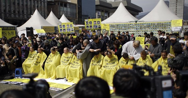 S. Korean ferry victims' relatives reject compensation plan