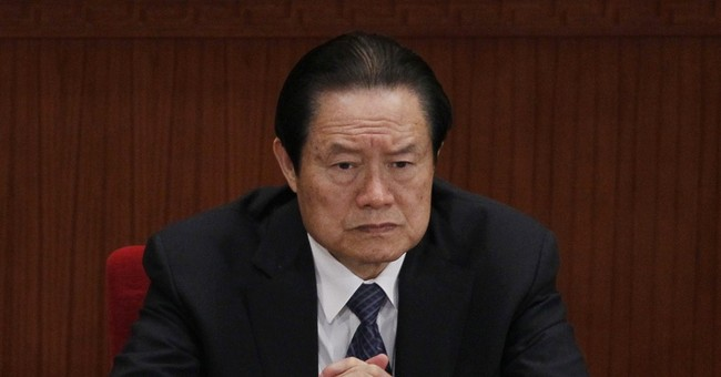 China's ex-security chief indicted on corruption charges