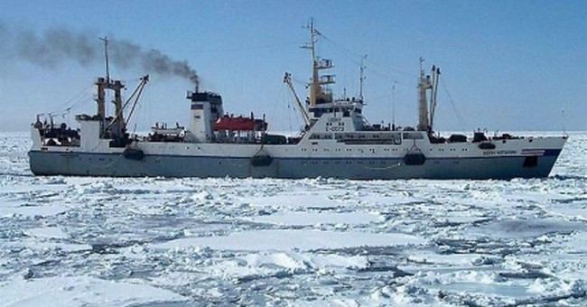 Russian trawler sinks quickly in icy water, at least 56 dead