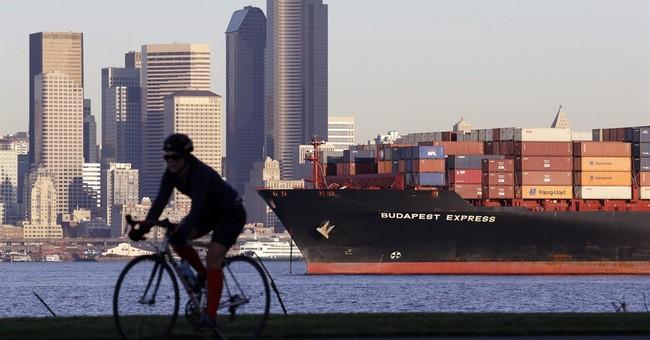 US trade gap narrows as exports fall but imports drop more