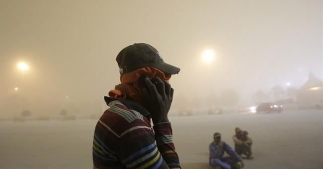 Heavy sandstorm descends onto Dubai, other Gulf cities