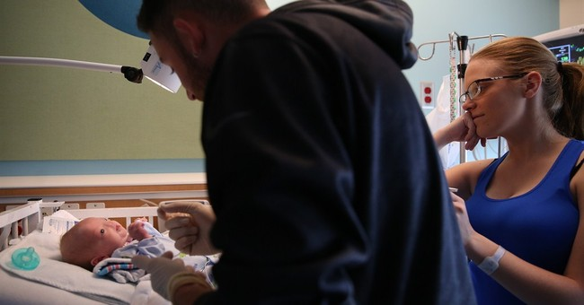 Alabama mom: Baby born without nose 'perfect the way he is'