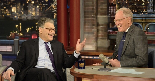 Al Franken urges David Letterman to run for US Senate