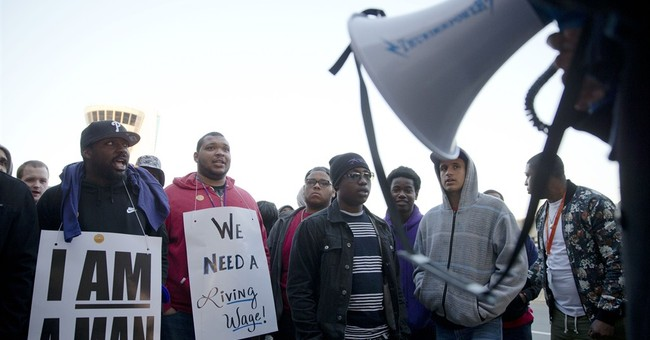 Philadelphia airport workers strike over wages and benefits