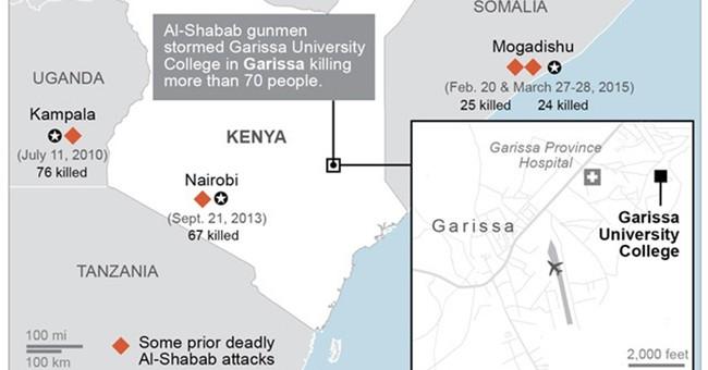 Al-Shabab militants kill 147 at university in Kenya