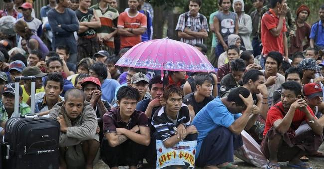 Hundreds of fishermen rescued amid Indonesian slavery probe