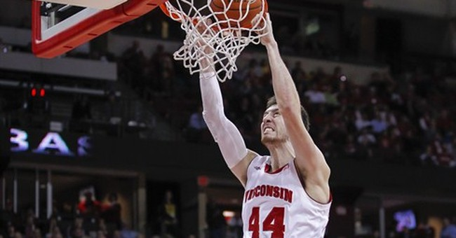 Wisconsin's Frank Kaminsky chosen AP Player of the Year