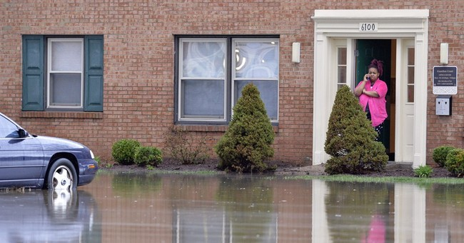 Mother, child missing in flood as storms hit South, Midwest