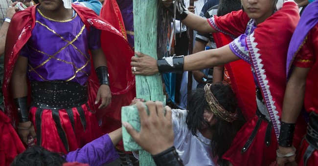 AP PHOTOS: Christians celebrate Holy Week
