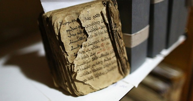 In Iraq, a historic Christian library saved from militants