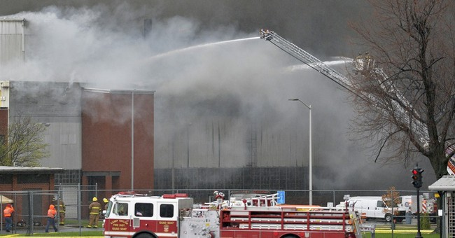 Massive fire breaks out at GE's Appliance Park in Kentucky