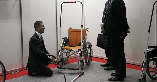 Disaster expo shows innovations in thriving Japan industry