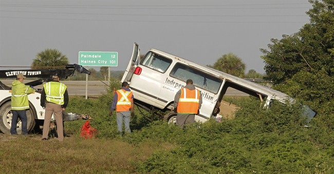 Safety of some vans questioned in wake of Florida crash